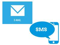 Mala Direta por e-mail e sms avisa seu cliente destak informatica